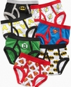 Justice League Kids Underwear, Toddler Boys 7 Pack
