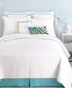 Trina Turk Bedding, 18   Square Green Border Decor