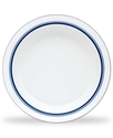 Dinnerware, Christianshavn Blue Rim Soup Bowl