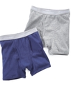 Boys 2-Pack Cotton Boxer Briefs