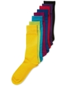 Men's Socks, Single Pack Spectrum Solid Men's Sock