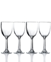 Glassware, Set of 4 Rhodes Wine Glasses