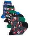 Socks, Holiday Printed Trouser Socks