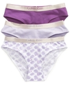 Kids Underwear, Girls 3-Pack Bikini Briefs