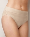 Brief, Wonderful Edge Panties Wide Band Cotton Bri
