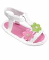 Baby Shoes, Baby Girls 3-Flower Sandals