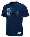 MLB Big and Tall T-Shirt, Authentic Boston Red Sox