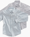 Kids Shirt, Boys Shutter-Stripe Small-Collar Shirt