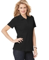 Petite Top, Short-Sleeve Polo