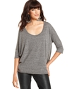 RACHEL Rachel Roy Top, The Margie Three-Quarter Sc