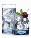 The Cellar   Silhouettes Blue   16-Piece Glassware