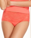 Brief, Modern Lace Front Brief 610207