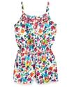 Kids Romper, Little Girls Dot Printed Romper