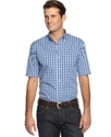 Shirt, Slim-Fit Aubrey Poplin Plaid Shirt