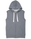 Vest, Full Zip Hoodie Vest