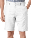 Shorts, Linen Blend Cargo Short