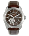Watch, Men&#39;s Brown Leather Strap 41mm 96A108