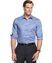 Shirts, Long Sleeve Egyptian Cotton Twill Shirt