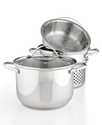 Stainless Steel Covered Multi Pot, 8 Qt. with Past