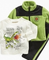 Baby Set, Baby Boys 3-Piece Dinosuar Set