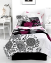 Silver Medallion 4 Piece Full Sheet Set Bedding