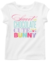 Carter's Kids T-Shirt, Little Girls Glitter Graphi