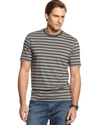 T-Shirt, Short Sleeve Trappunto Stripe T-Shirt