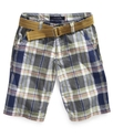Kids Shorts, Boys Rory Plaid Shorts