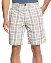 Shorts, Maldan Plaid Shorts
