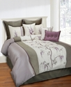 Brisbane 8 Piece Full Comforter Set Bedding