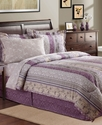 Norwood 8 Piece California King Reversible Bedding