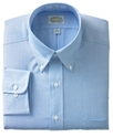 Dress Shirt, No-Iron Blue Feather