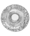 Arthur Court Grape Chip & Dip Plate, 14