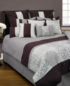 Rose Collage 12 Piece Full Comforter Set Bedding