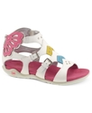 Kids Shoes, Girls or Little Girls Flutterby Sandal