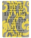 Wall Art, Reason to Believe Wooden Sign by Lisa We