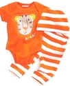Baby Set, Baby Boys Three-Piece Roar Lion Bodysuit