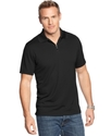Big and Tall Shirt, Ottoman Zip Polo