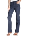 Jeans, Tummy Control Boot Cut, Rinse Wash