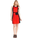 MICHAEL Michael Kors Petite Dress, Sleeveless Colo