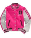 Kids Jacket, Toddler Girls Varsity Jacket