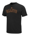 Big and Tall MLB T Shirt, San Francisco Giants Tea