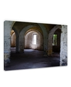 Wall Art, Ruins Light Interior Canvas Print by Ash