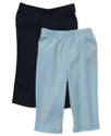 Carter's Baby Set, Baby Boys Two-Pack Solid Pants