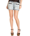 Dollhouse Shorts, 4   Cuff with Front Zip Short