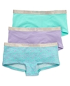 Kids Underwear, Girls 3-Pack Boy Shorts