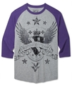 Shirt, 3/4 Raglan Renegade Moto T-Shirt