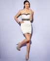 Juniors Dress, Strapless Ruched Mini