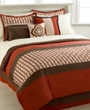Carlisle 7 Piece Full Embroidered Comforter Set Be