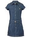 GUESS Girls Dress, Girls Crochet-Hem Shirtdress